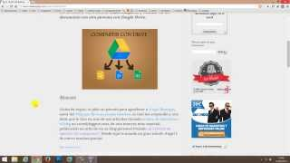 Cómo instalar Google Drive en Windows 7