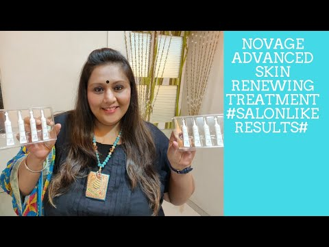 NovAge Advance skin Renewing Treatment /demo/review/#SalonLikeResults #ketkibhatti # saloninabox