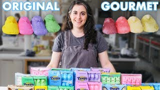 Pastry Chef Attempts to Make Gourmet Peeps | Gourmet Makes | Bon Appétit
