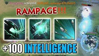 Super Fast Intelligence Steal with Focus Fire, Arcane Orb [Infinite Mana Abuse] Dota 2 Ability Draft