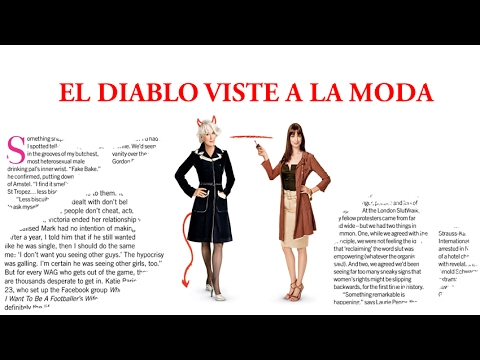 Análisis Película-El diablo viste a la moda