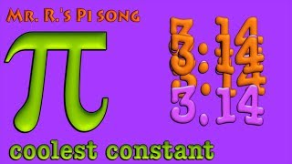 Pi Song (mathematical pi)
