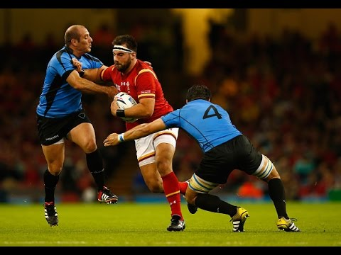 Wales v Uruguay - Full Match Highlights and Tries - RWC 2015