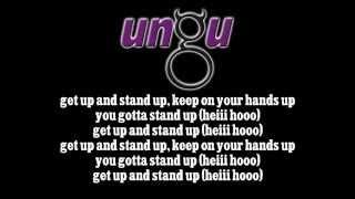 Download Lagu ungu   get up!! stand up   lirik Gratis STAFABAND