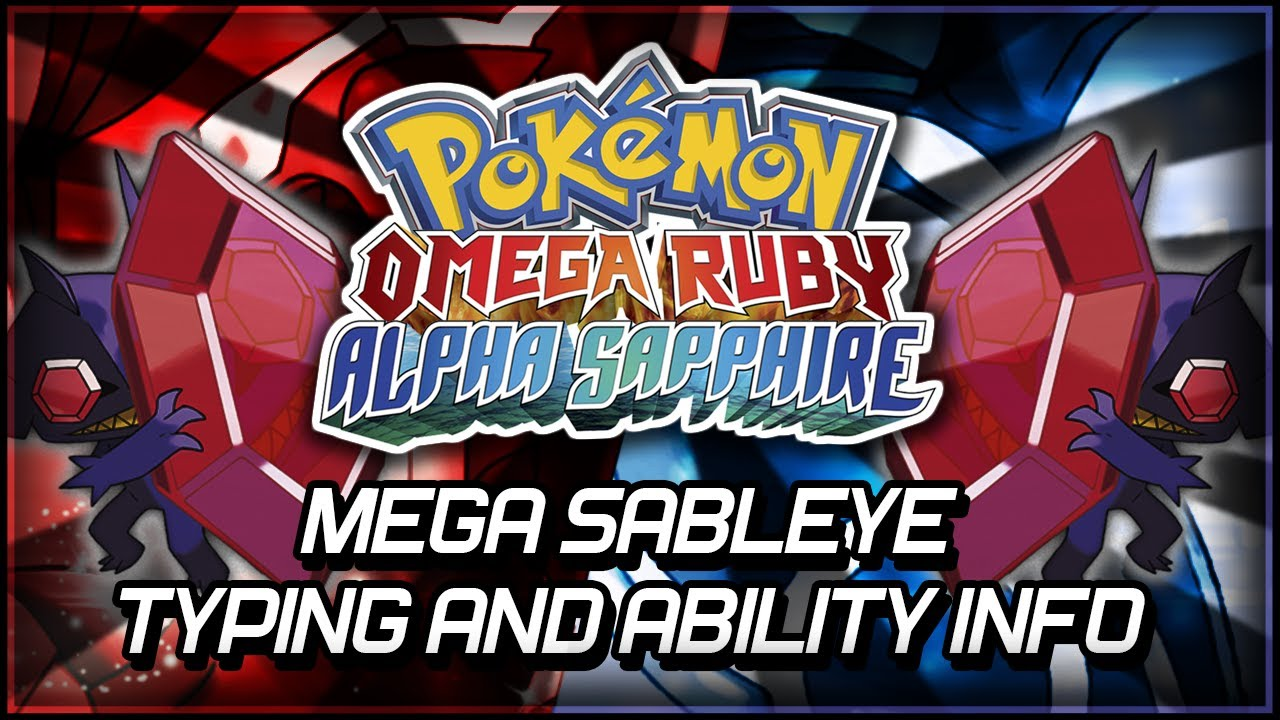 how to get sableye in omega ruby