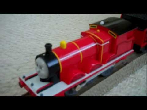 Thomas The Tank Engine Trackmaster Face Changing James at the Copper Mine Kids Toy Train Set