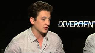 Interview with Miles Teller and Jai Courtney for Divergent