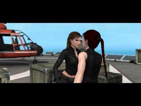 Lara croft vs Doppelganger (Luta)