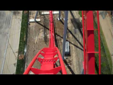 Intimidator Carowinds Front Seat POV