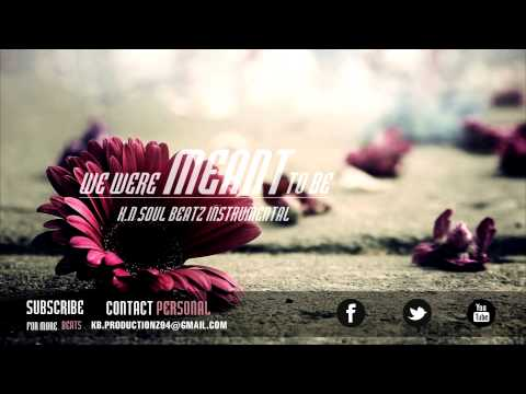 "R&B Piano Love Song Instrumental Beat *NEW* 2014 ""We Were Meant To Be"""