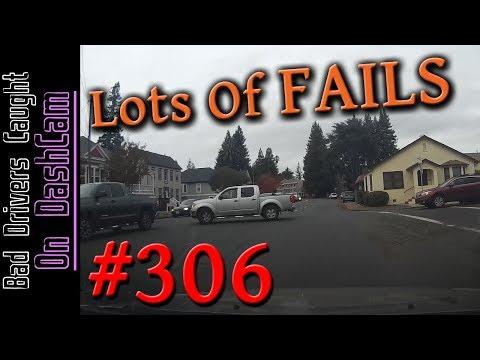Bad Drivers Dashcam Compilation #306 - ROAD RAGE, Dumb People and Close Calls