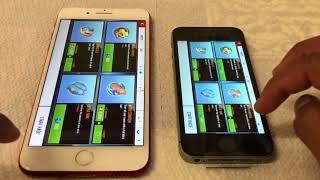 iPhone 7 Plus vs iPhone Se speed test