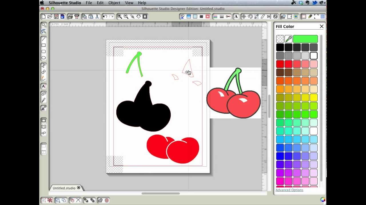 Tracing for layers in Silhouette Studio - YouTube