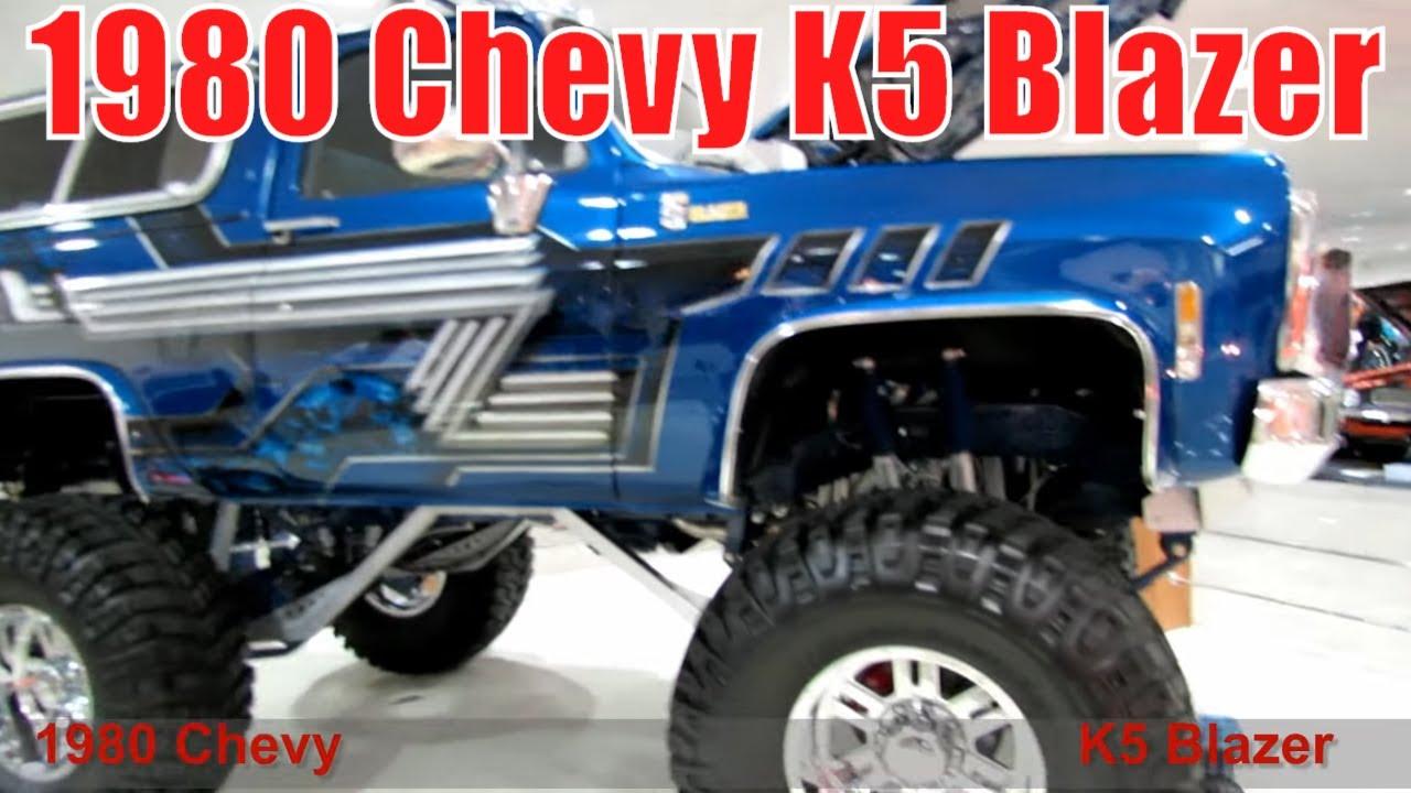 1980 Chevy K5 Blazer - YouTube