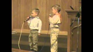2 ADORABLE Toddlers Sing He Arose   It Will Melt Your Heart!   Cute Videos