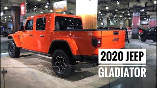 2020 Jeep Gladiator Experience