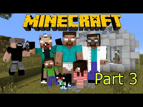 If Herobrine had a Family - Minecraft Part 3