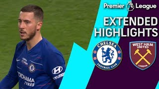 Chelsea v. West Ham   PREMIER LEAGUE EXTENDED HIGHLIGHTS   4/8/19   NBC Sports