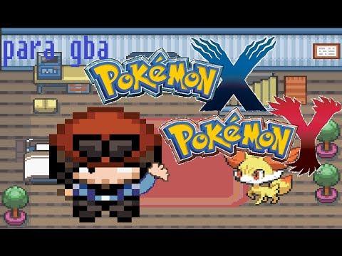 Pokemon Black And White Gba Hack Hack Pokemon x e y Para Gba