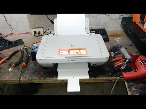 instalación de sistema de tinta canon mg2410 y mg 2520 #2