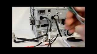 How to wire an aftermarket radio / I Demo install with metra harness and antenna adapter