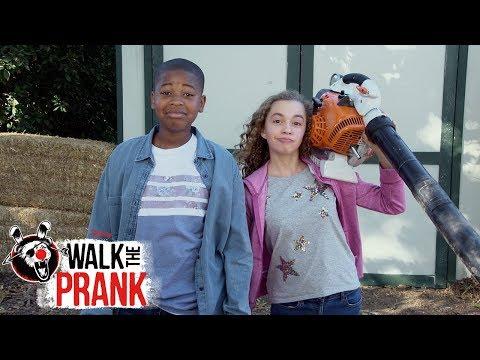 Leaf Blower | Walk the Prank | Disney XD