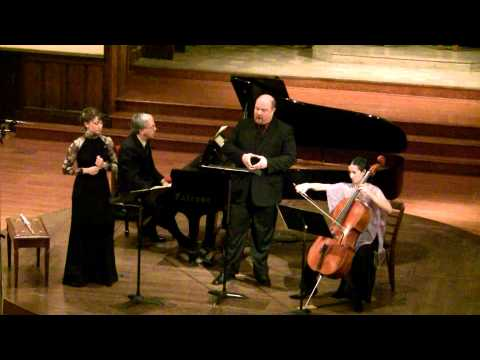 Dolce Suono Trio and baritone Randall Scarlata perform Ravel
