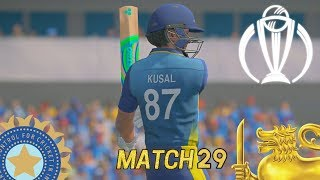 ICC CRICKET WORLD CUP 2019 GAMING SERIES - INDIA v SRI LANKA MATCH 29 (ASHES CRICKET 19)