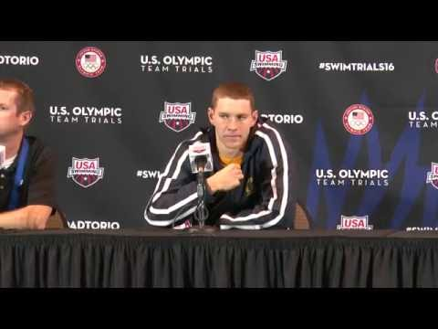 2016 U S  Olympic Team Trials   Swimming Ryan Murphy, 100m Breaststroke