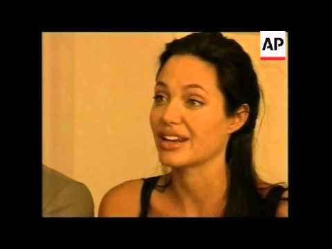 Interview With Angelina Jolie And Brad Pitt