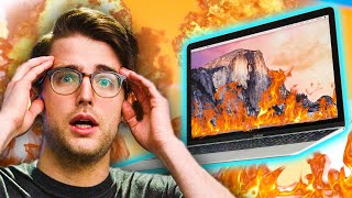 Macbooks could catch FIRE!?