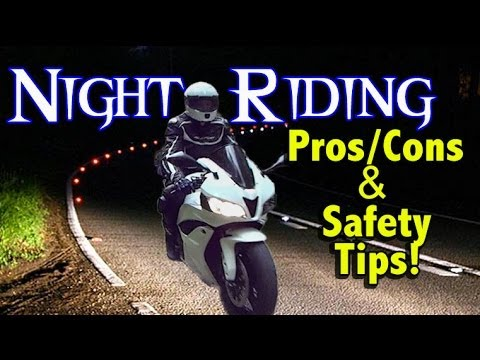 Riding Gear Motorcycle Motorcycle Night Riding Pros