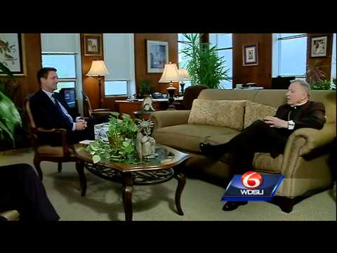 Archbishop Gregory Aymond sits down to discuss Pope Francis' trip, message to church