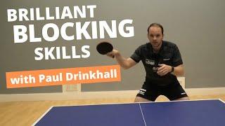 Brilliant blocking skills | Pro tips from PAUL DRINKHALL