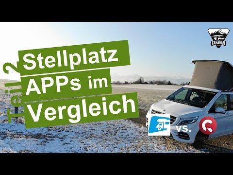 Die BESTEN Stellplatz APPs für Wohnmobile - Der VERGLEICH - Teil 2