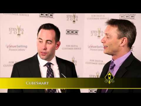 CubeSmart wins at the 2014 Stevie Awards for Sales & Customer Service