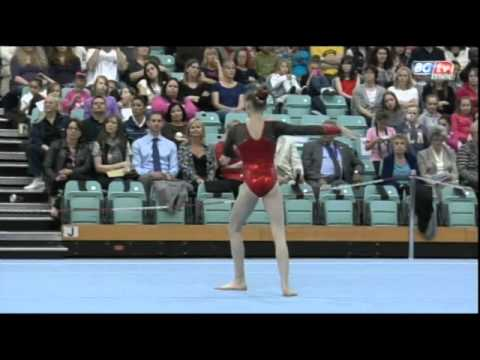Rebecca Tunney - British Team Championships- Floor