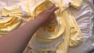 Покупки одежды для новорожденного 1 часть