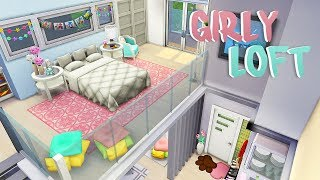 GIRLY LOFT 💕 | The Sims 4 | Speed Build