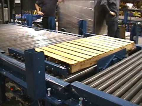 Wulftec Conveyors Pallet Stopper Amp Load Centering Youtube