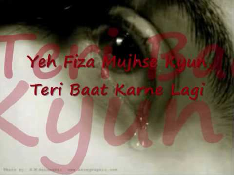 Heart Touching Hindi Sad Song Yaad Aye Woh Din With Lyrics