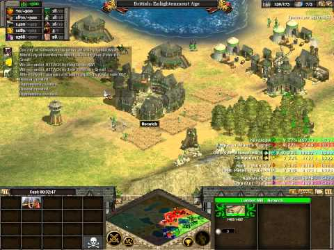 Betch Plays - Rise of Nations - How to own and manage an empire