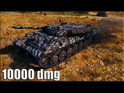 Т-100 ЛТ рекорд по урону за 8 минут