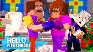 Minecraft - HELLO NEIGHBOUR GET'S MARRIED!! (MEETING HIS CRAZY WIFE) w/ Little Kelly