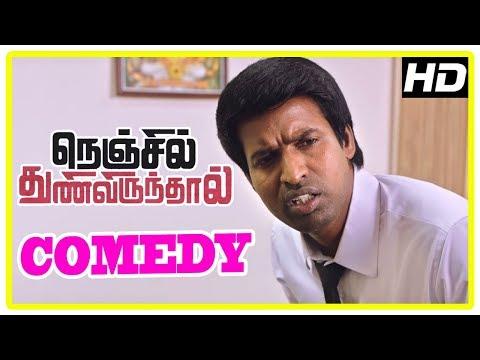 Latest Tamil Comedy 2017 | Soori Comedy | Nenjil Thunivirunthal Scenes | Sundeep Kishan | Mehreen