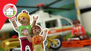 Playmobil Film deutsch - Der Auffahrunfall - Kinderfilm mit Familie Hauser -  Family Stories