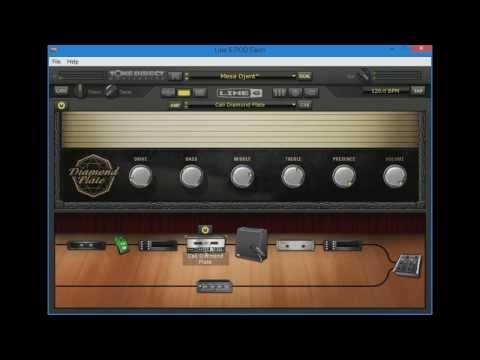 POD Farm Djent Guitar Tone (Walkthrough + Demo)
