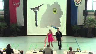 Anna-Clara Höpfner & Andre Römer - Ländle Cup 2015