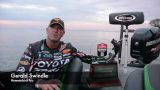 Humminbird pro Gerald Swindle Wins 2016 Bassmaster Elite Angler of the Year