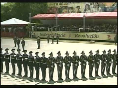 Delegación bielorrusa en desfile Bicentenario (Caracas, 19 de Abril de 2010)